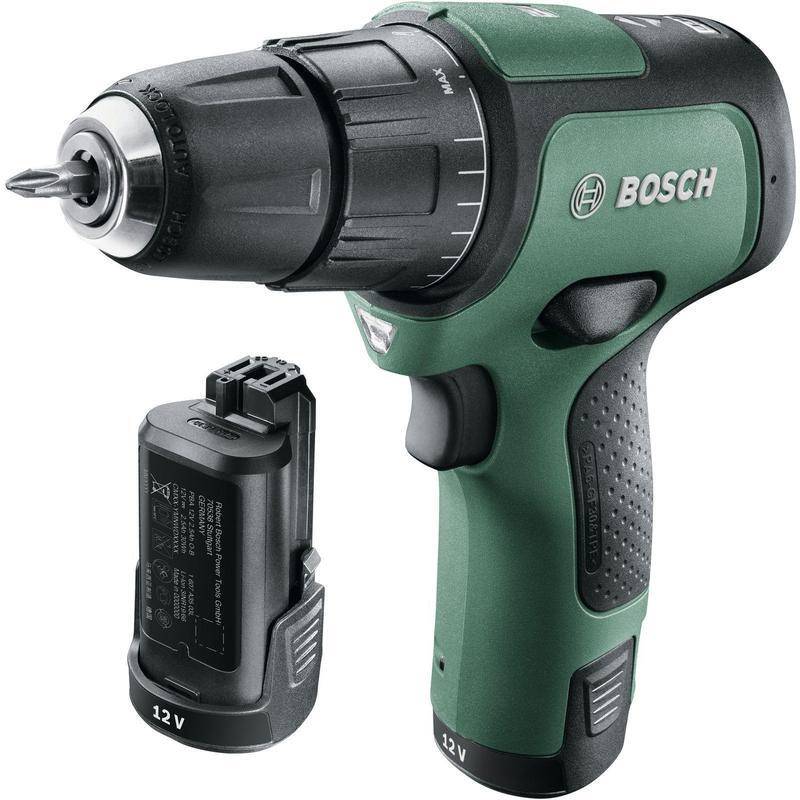 Шуруповерт аккумуляторный Bosch EasyImpact 12 (2 акк.), 12В, Li-On (06039B6101) фото