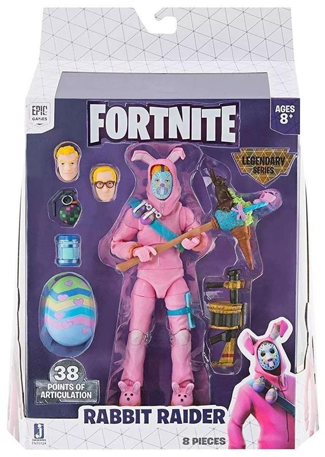 Колекційна фігурка Fortnite Legendary Series Rabbit Raider (FNT0124) фото