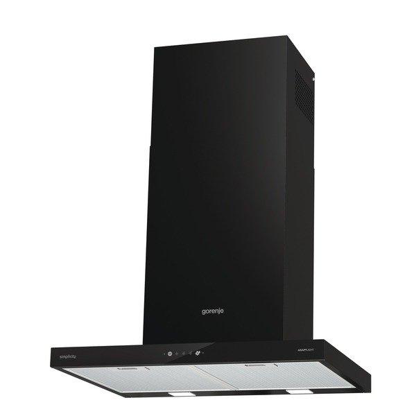Купить Вытяжки, Каминная вытяжка Gorenje WHT6SYB/Simplicity/650 черная
