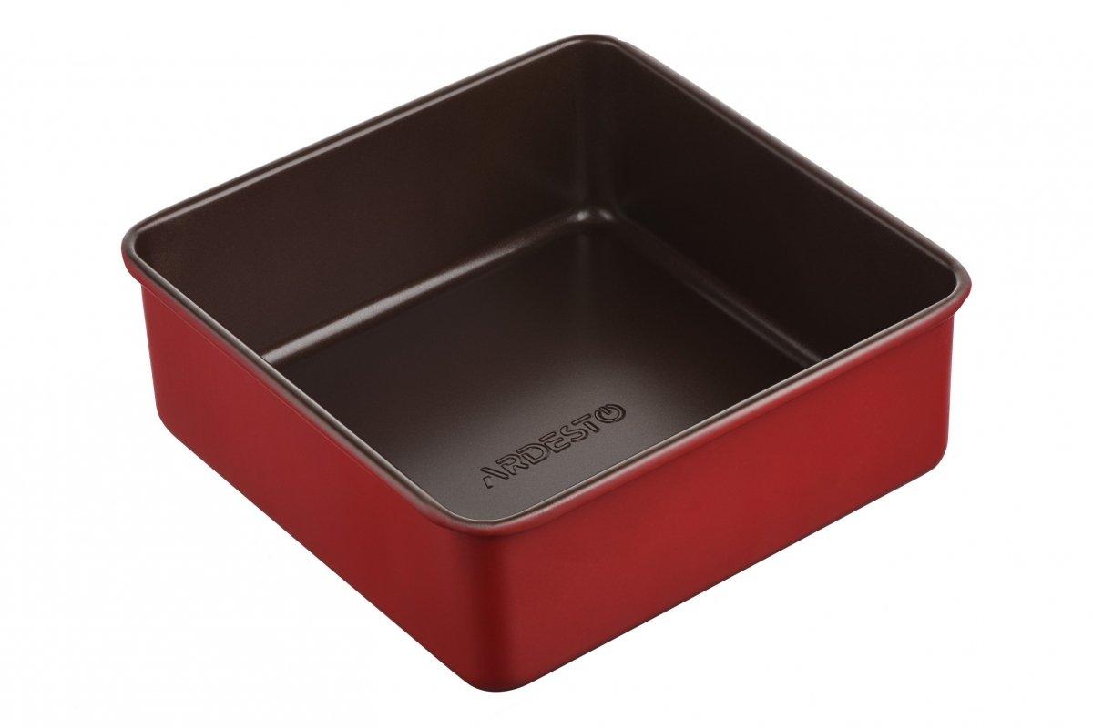 Форма для выпечки Ardesto Golden Brown квадр. 21,9*7,9 см (AR2403R) фото