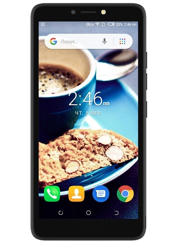 Смартфон TECNO POP 2F (B1F) 1/16GB DS Midnight Black фото