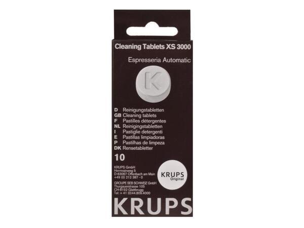 Купить Аксессуары к товарам для кухни, Таблетки от накипи Krups XS300010 для кофемашин (10шт)