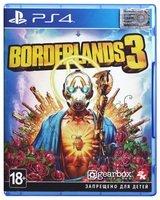 Игра Borderlands 3 (PS4, Бесплатное обновление для PS5, Русские субтитры)