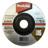 Диск зачисной Makita 125 мм 36N по нержавеющей стали (A-80656)