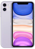 Смартфон Apple iPhone 11 128GB Purple (slim box) (MHDM3)