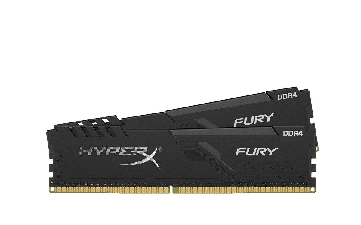 Пам'ять для ПК HyperX DDR4 2666 8GB Fury Black (HX426C16FB3K2/8) фото1