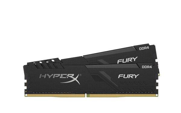 Купить Оперативная память - ОЗУ, Память для ПК Kingston HyperX DDR4 2666 32GB (Kit of 2x16) Fury Black (HX426C16FB3K2/32)