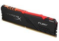 Память для ПК HyperX DDR4 2666 16GB Fury RGB Black (HX426C16FB3A/16)