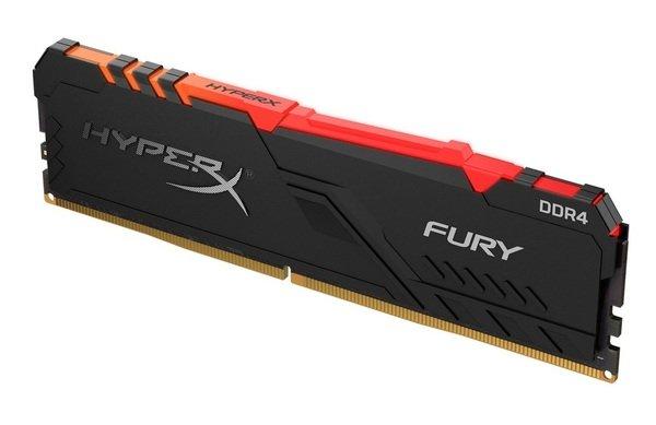 Купить Оперативная память - ОЗУ, Память для ПК Kingston HyperX DDR4 3000 16GB Fury RGB Black (HX430C15FB3A/16)