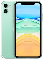 Смартфон Apple iPhone 11 256GB Green (slim box) (MHDV3)