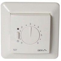 Терморегулятор Devireg 527 без датчика температуры белый (140F1041)