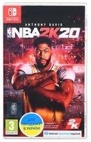 Игра NBA 2K20 (Nintendo Switch, Английский язык)