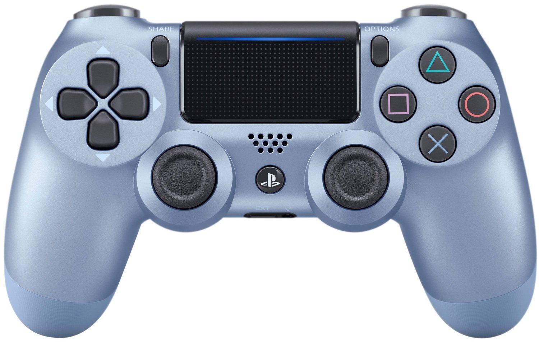 Беспроводной геймпад SONY Dualshock 4 V2 Titanium Blue (9949602) фото 1