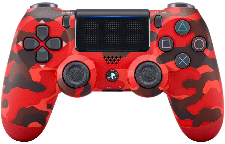 Беспроводной геймпад SONY Dualshock 4 V2 Red Camouflage (9950004) фото 1