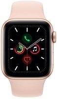 Смарт-часы Apple Watch Series 5 GPS 44mm Gold Aluminium Case with Pink Sand Sport Band S/M & M/L