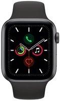 Смарт-часы Apple Watch Series 5 GPS 44mm Space Grey Aluminium Case with Black Sport Band S/M & M/L