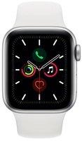Смарт-часы Apple Watch Series 5 GPS 40mm Silver Aluminium Case with White Sport Band