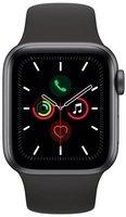 Смарт-часы Apple Watch Series 5 GPS 40mm Space Grey Aluminium Case with Black Sport Band