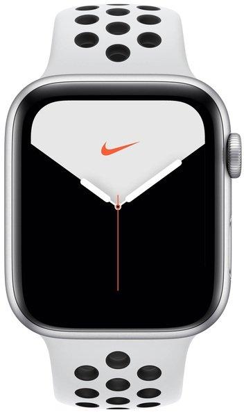 Купить Smart Watch (Умные часы), Смарт-часы Apple Watch Nike Series 5 GPS 40mm Silver Aluminium Case with Pure Platinum/Black Nike Sport Band