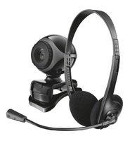 Веб-камера Trust Exis Chatpack BLACK