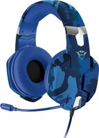 Игровая гарнитура Trust GXT 322B Carus Gaming Headset for PS4 3.5mm BLUE (23249)