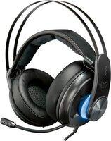 Игровая гарнитура Trust GXT 383 Dion 7.1 Bass Vibration USB BLACK (22055)