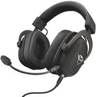 Игровая гарнитура Trust GXT 414 Zamak Premium Multiplatform 3.5mm BLACK (23310)