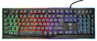 Игровая клавиатура Trust GXT 860 Thura Semi-mechanical RGB BLACK (22416)