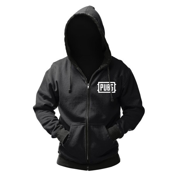 Купить Игровая атрибутика, Худи PUBG Zip-Up Logo XL (GE6275XL), GAYA