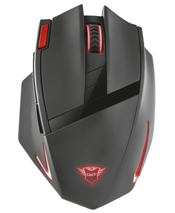 Ігрова миша Trust GXT130 RANOO WL BLACK (20687_TRUST) фото