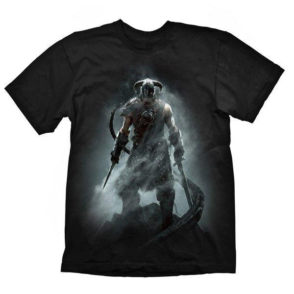 Купить Игровая атрибутика, Футболка Skyrim Dragonborn , размер L (GE1217L), GAYA