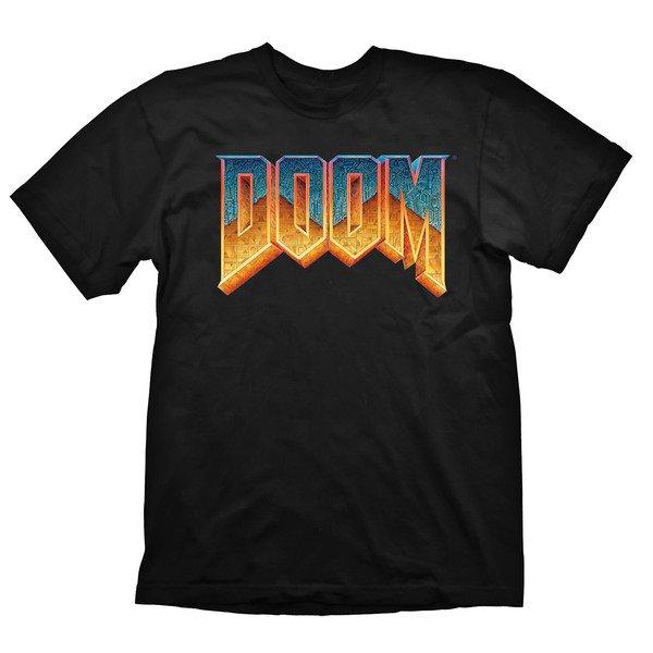 Купить Игровая атрибутика, Футболка Doom Logo , размер L (GE1126L), GAYA