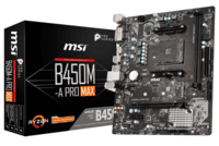 Материнська плата MSI B450M-A PRO MAX