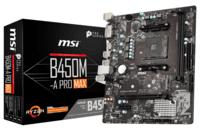 Материнcкая плата MSI B450M-A PRO MAX