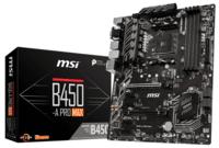 Материнcкая плата MSI B450-A PRO MAX