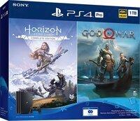 Игровая консоль PlayStation 4 Pro 1Tb Black (God of War + Horizon Zero Dawn CE) (9994602)