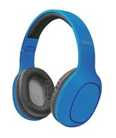 Навушники Bluetooth Trust Dona Wireless Over-Ear Mic Blue