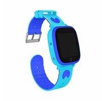 Дитячий годинник-телефон з GPS трекером GOGPS ME K14 синій (K14BL)