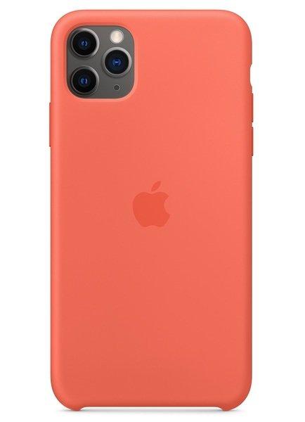 Купить Чехлы для телефонов (смартфонов), Чехол Apple для iPhone 11 Pro Max Silicone Case Clementine (Orange) (MX022ZM/A)