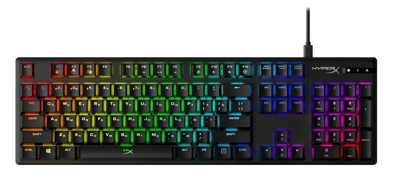Игровая клавиатура HyperX Alloy Origins USB (HX-KB6RDX-RU) фото 1