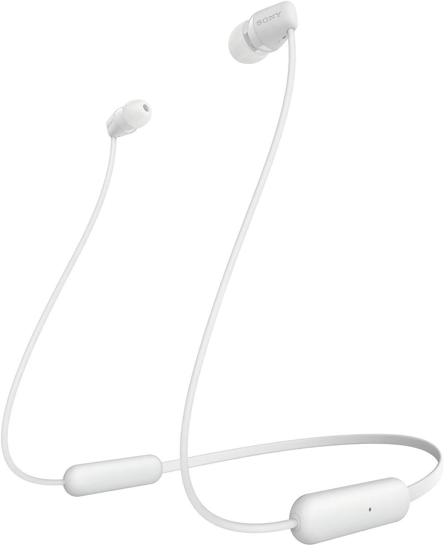 Навушники Bluetooth Sony WI-C200 White фото1