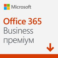 Microsoft Office365 Business Premium 1 User 1 Year Subscription All Languages, електронний ключ (KLQ-00217)