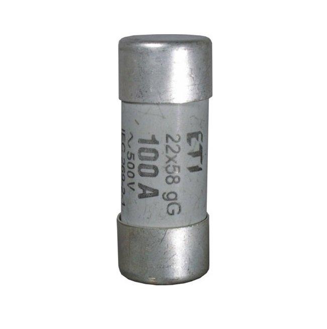 Предохранитель ETI CH 22X58 gG 80A, 500V (2640023) фото