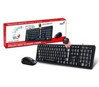 Комплект Genius Smart KM-8200 WL Black Ukr (31340003410)