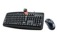 Комплект Genius Smart KM-200 Black Ukr (31330003410)