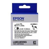 Картридж с лентой Epson LK6WBA11 принтеров LW Blk/Wht d11/2.5m (C53S656902)