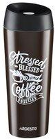 Термочашка Ardesto Coffee time Cup 450 мл коричневая (AR2645DBB)
