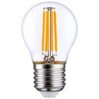 Лампа светодиодная OSRAM LED STAR E27 5-60W 4000K 220V P45 FILAMENT