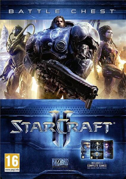 Игра для ПК Starcraft 2 Battlechest (73007EN)