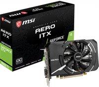 Відеокарта MSI GeForce GTX1660TI 6GB GDDR6 AERO ITX OC (GF_GTX_1660_TIAEROITX6GO)